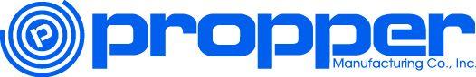 Propper Manufacturing co. Logo