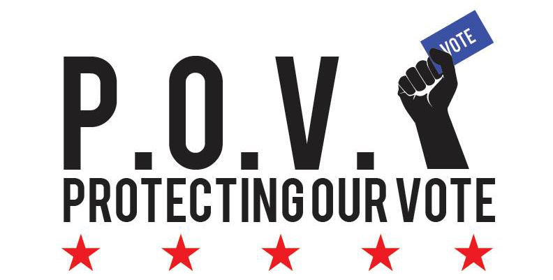 Protecting Our Vote Campaign Logo