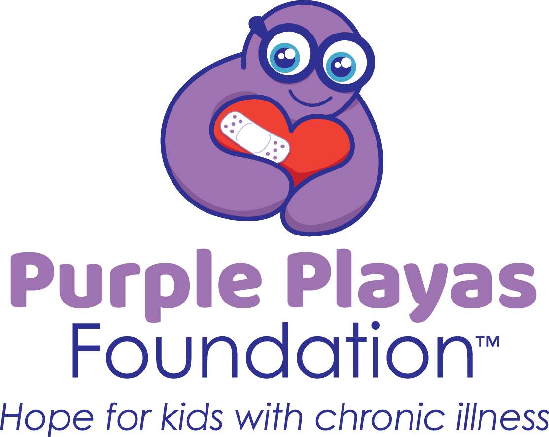 Purple Playas Foundation Logo