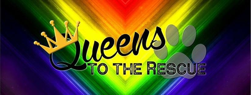 Queens to the Rescue Logo