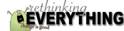 Rethinking Everything Magazine Logo