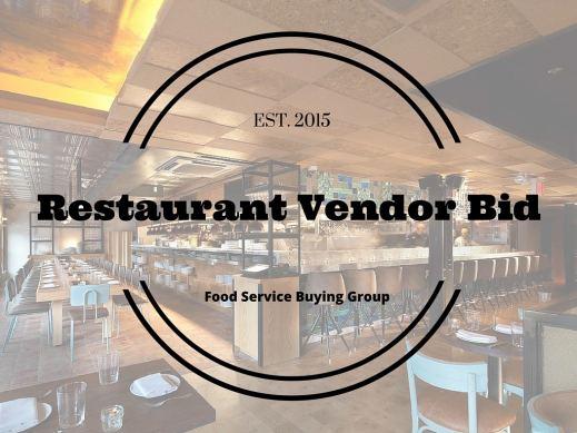 Restaurant Vendor Bid Logo