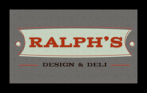 Ralph's Design & Deli Logo