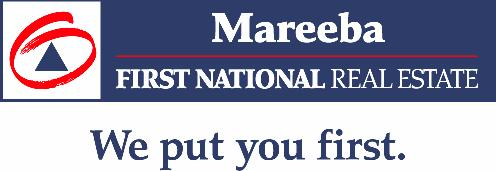 Mareeba First National Real Estate Logo