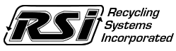 Recycling Systems, Inc. Logo