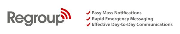 Regroup.com - Emergency & Mass Notification System Logo