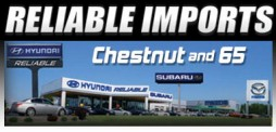 Reliable Imports Logo