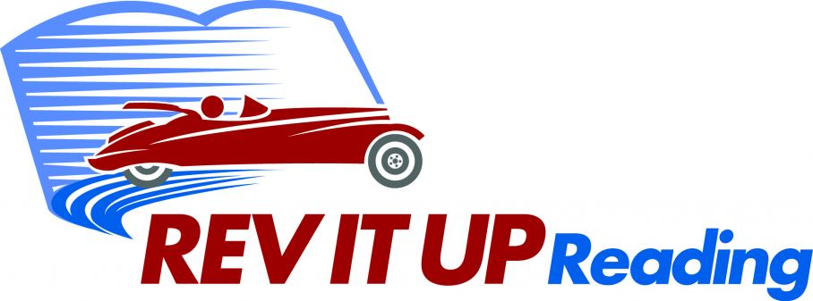 Rev It Up Reading Logo