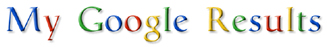 My Google Results | SEO Landing Pages Logo