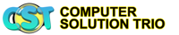 Computer Solution Trio Logo