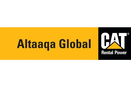 Altaaqa Global CAT Rental Power Logo