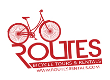 Routes Bicycle Tours and Rentals Logo