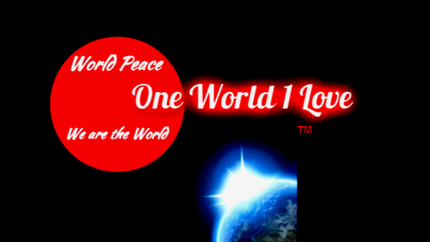 One World 1 Love Logo