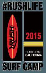 Rush Life Surf Camp Logo