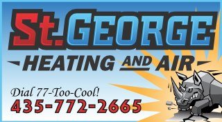 St. George Heating & Air Conditioning Logo