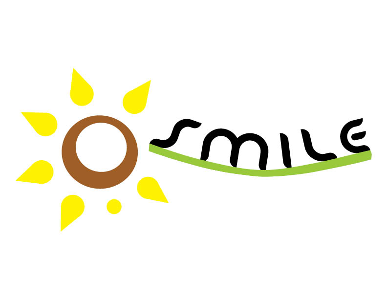 SMILE (Samantha Makes It a Little Easier) Logo