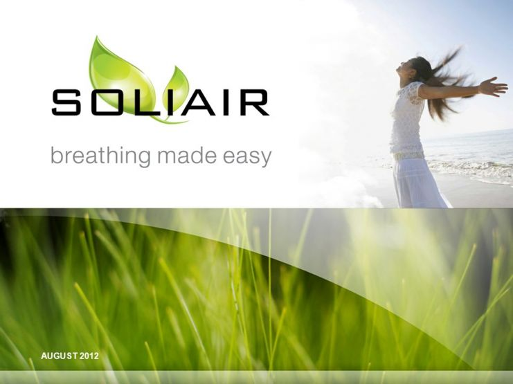 SOLIAIR™ - Breathing Made Easy! Logo