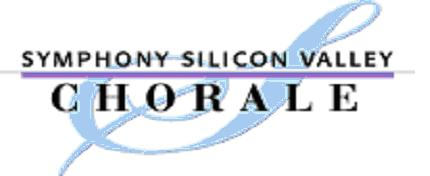 Symphony Silicon Valley Chorale Logo