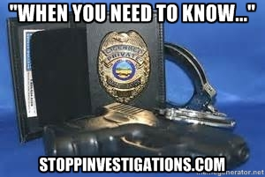 STOPP, LLC Investigations & Security Logo