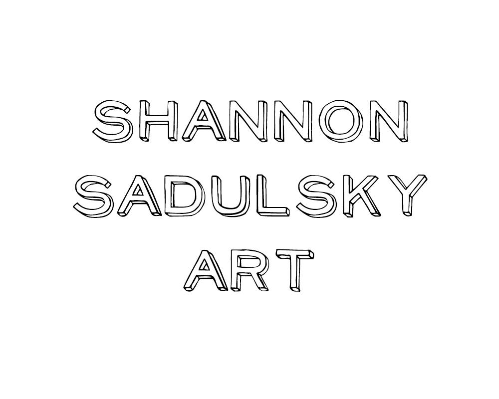 Shannon Sadulsky Art Logo