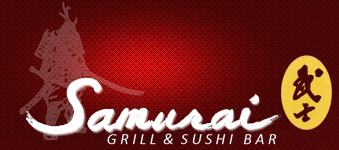 Samurai Grill and Sushi bar Logo