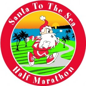 Santa to the Sea Logo