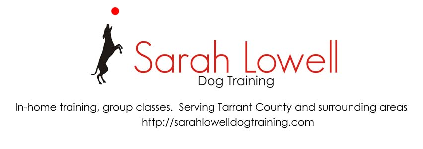 Sarah Lowell Dog Training Logo
