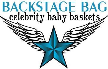 Backstage Bag Celebrity Baby Baskets Logo