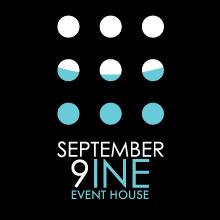 September 9ine Event House Logo