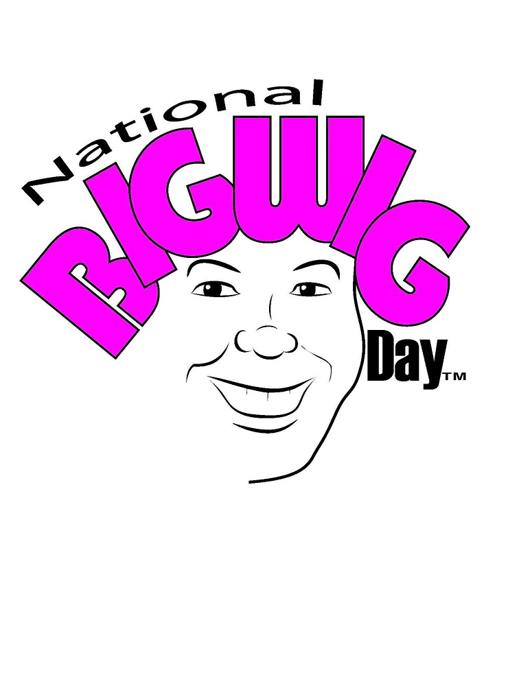 National Big Wig Day! Logo