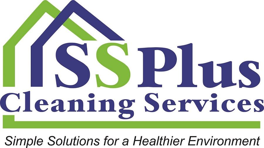 SimpSolPlus Cleaning Service Logo