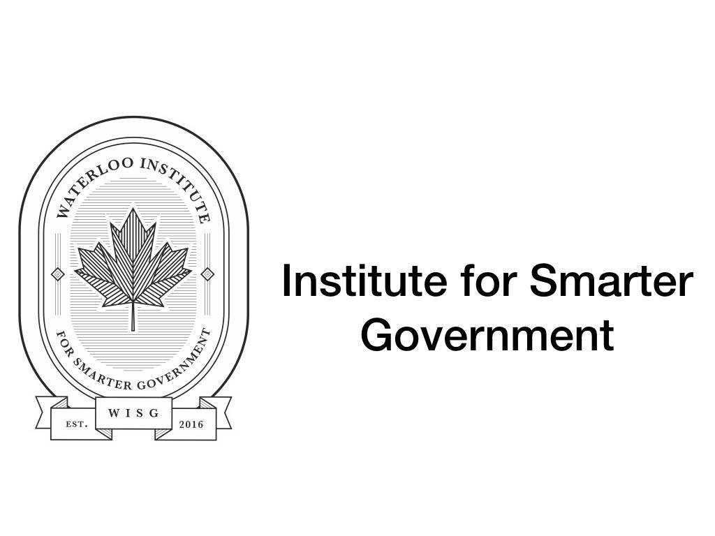 Institute for Smarter Government Logo
