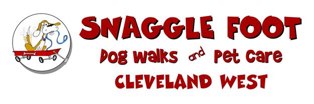 Snaggle Foot Dog Walks & Pet Care- Cleveland West Logo