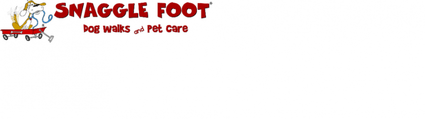 Snaggle Foot Dog Walks and Pet Care Logo