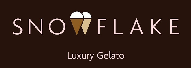Snowflake Luxury Gelato Logo