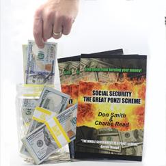 Book: Social Security The Great Ponzi Scheme Logo