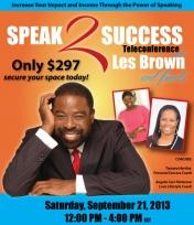 Speak-2-Success Logo
