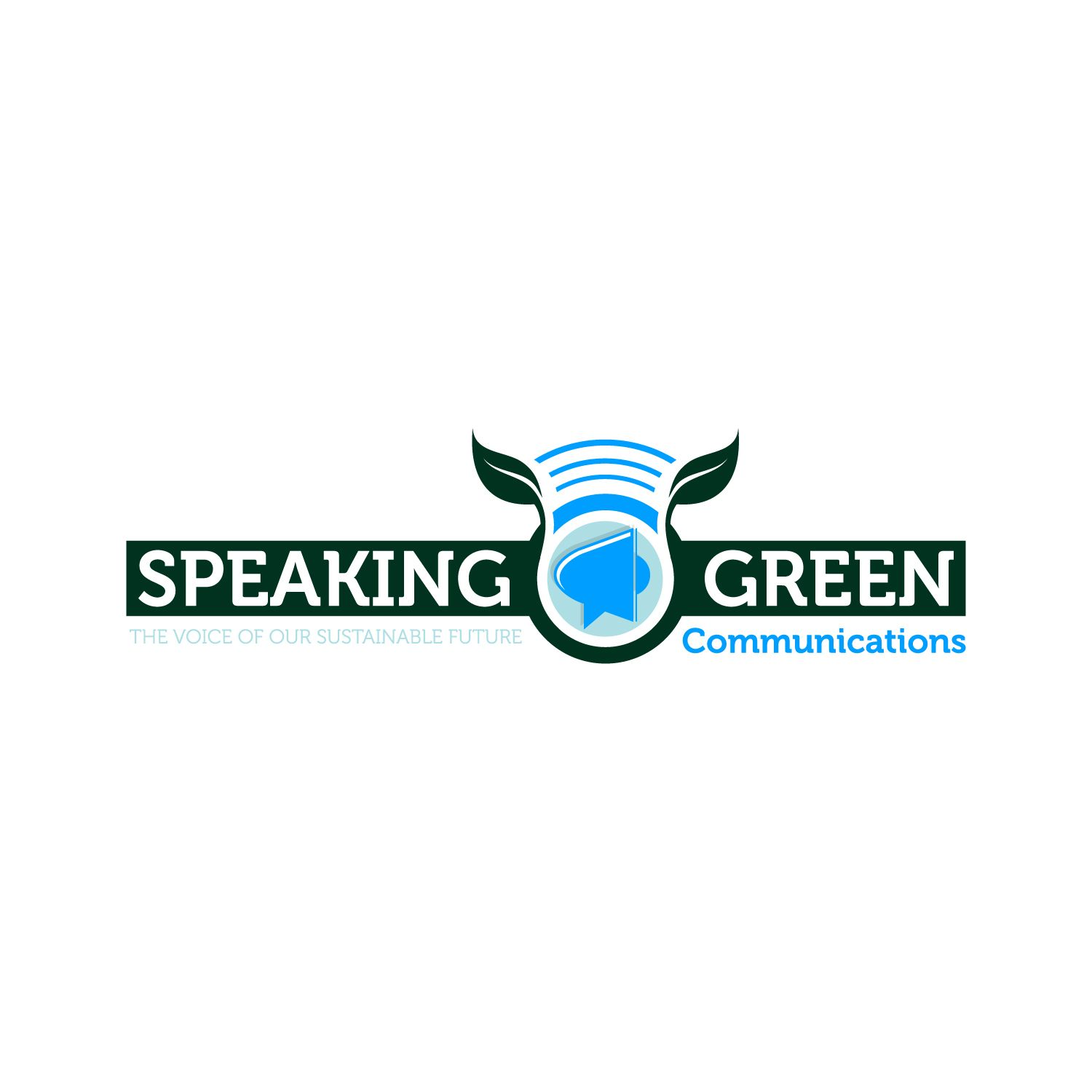 Speaking Green Communications Logo