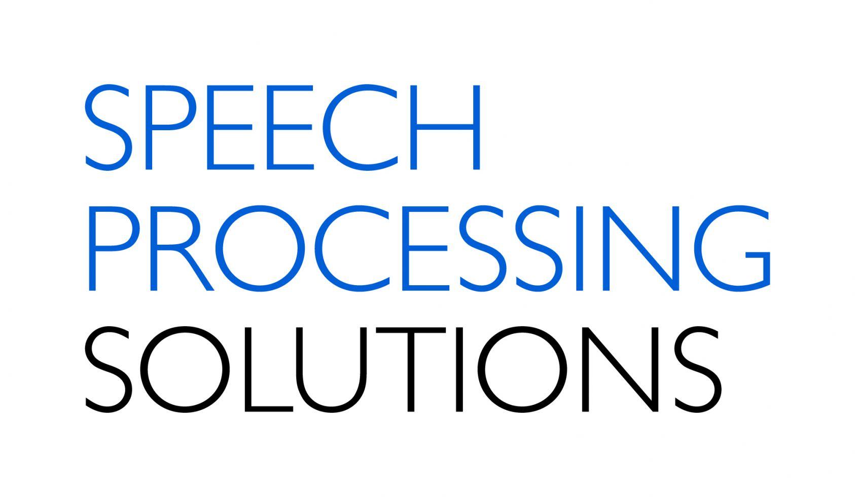 Speech Processing Solutions Logo