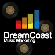 DreamCoast Music Marketing Logo