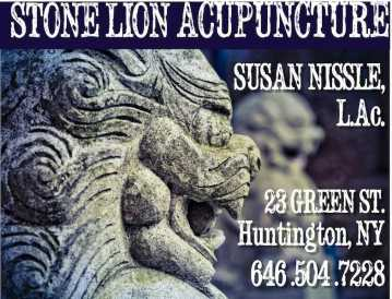 Stone Lion Acupuncture Logo