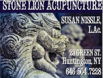Stone Lion Acupuncture Logo