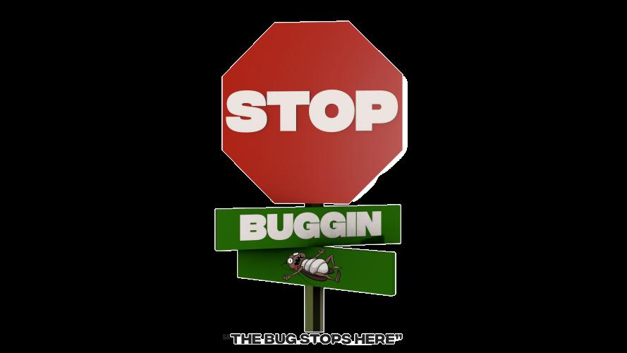 Stop Buggin Pest Control Logo