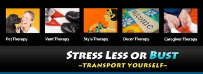 Stress Less or Bust Logo