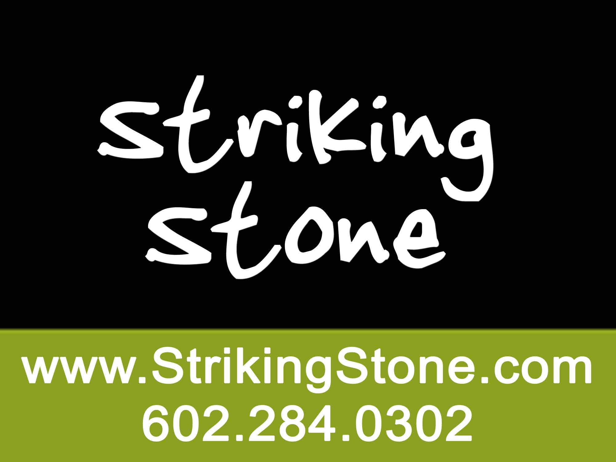 Striking Stone Logo