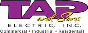 TAP and Son's Electric, Inc. Logo