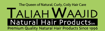 Taliah Waajid's Black Earth Products Logo
