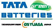 TATA Green Batteries Logo