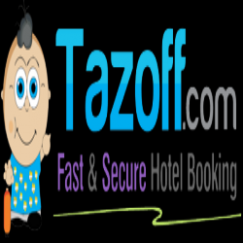 Tazoff.com - Fast & Secure Hotel Booking Website Logo