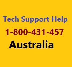 Technical Support Australia 1-800-431-457 Logo